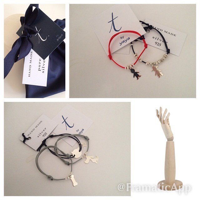 hand made bracelets t. by Yaya