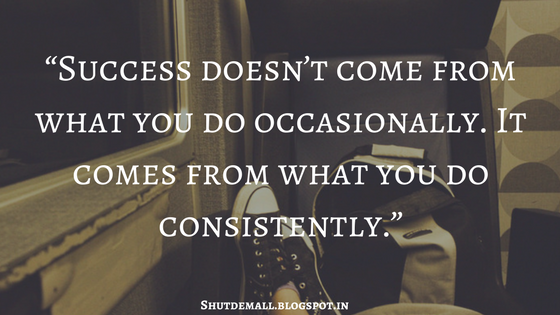 success in consistently