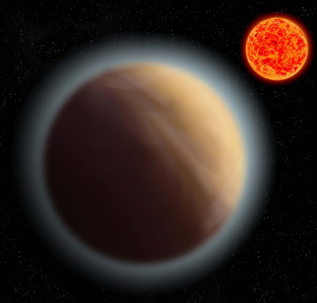 Atmosphere detected around an Earth-like planet