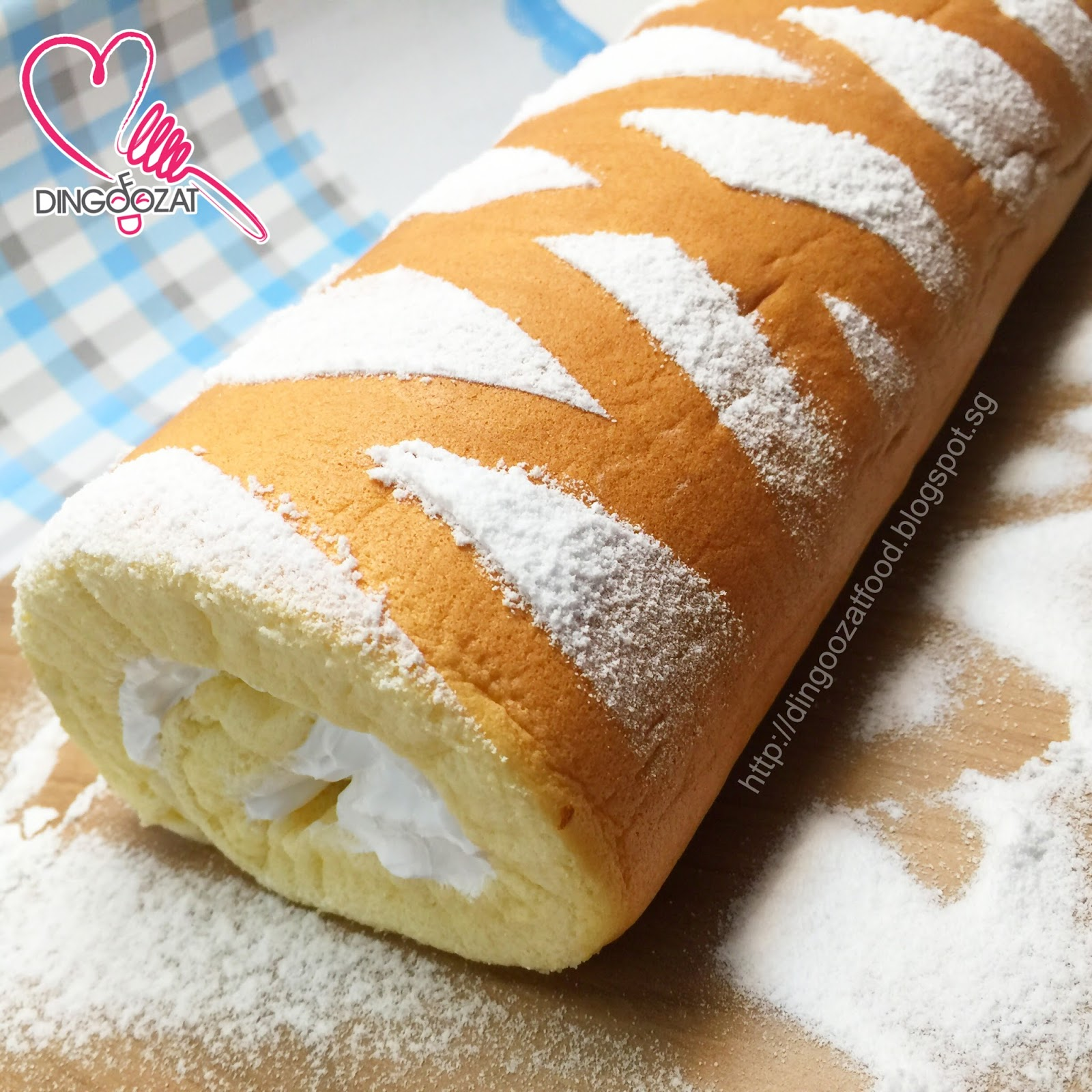 Miki S Food Archives Classic Vanilla Swiss Roll