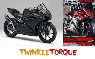 cbr 250rr 2017 japaneese magazine