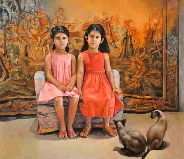 Ливанская художница. Rima Jabbur