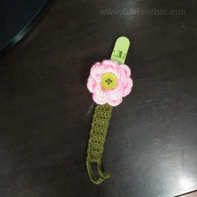 Pacifier clip untuk puting kosong
