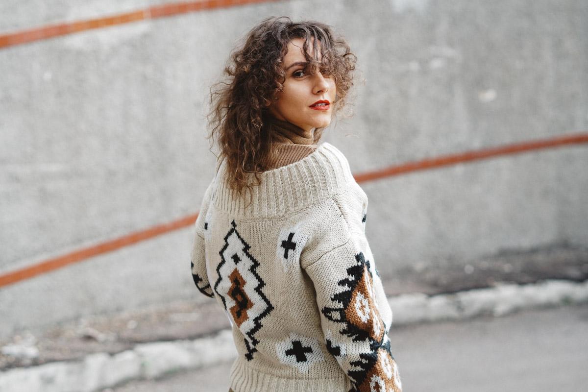 самый теплый свитер