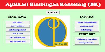 Aplikasi Proses Database Bimbingan Konseling (BK) di Sekolah