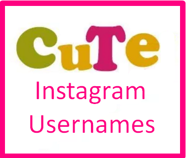 Cute Instagram Usernames