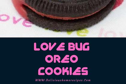 Love Bug Oreo Cookies #valentine #cookies