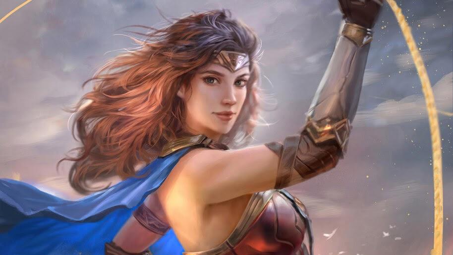 Wonder Woman, DC, Girl, 4K, #6.2162