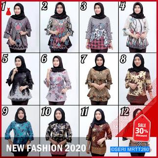 MRTT260A307 Atasan Batik Wanita M L XL BMGShop