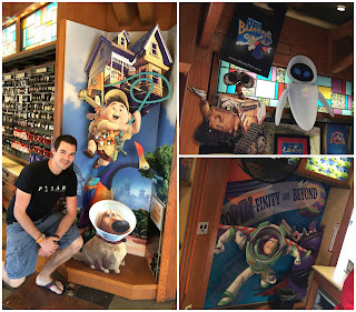disney springs pin traders pixar