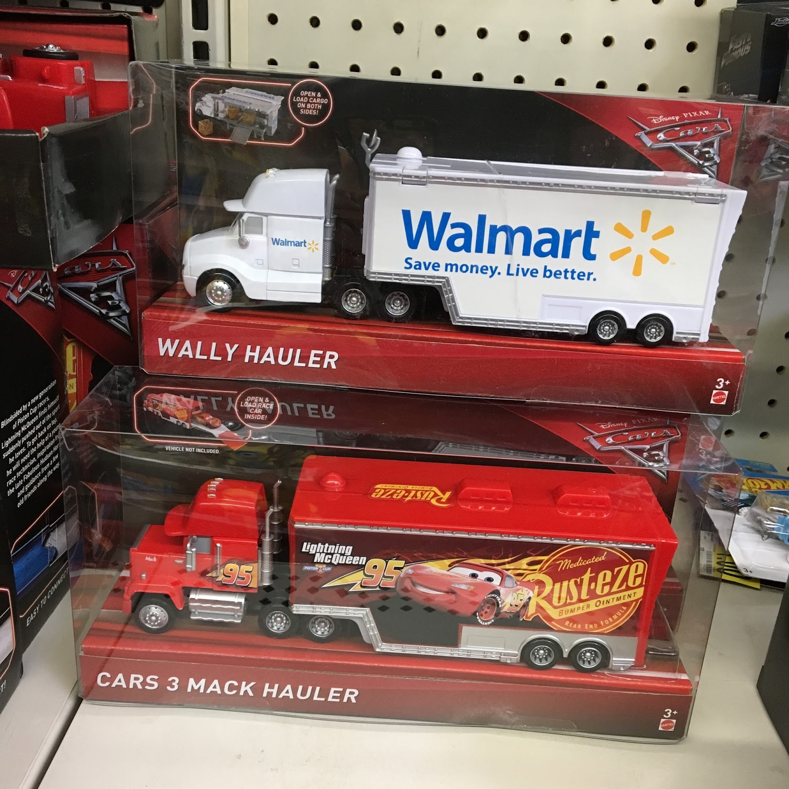 Toy Cars At Walmart : Dan the pixar fan