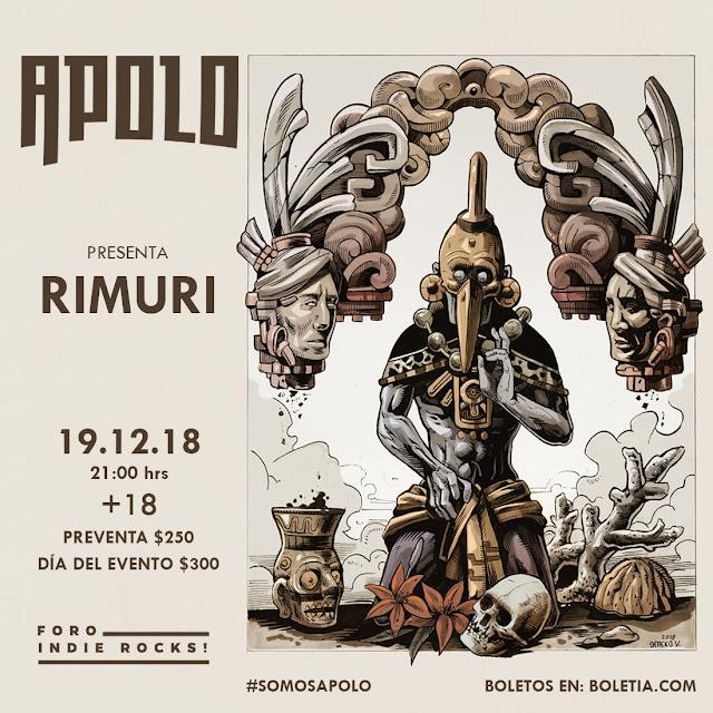 APOLO REVENTARÁ EL FORO INDIE ROCKS