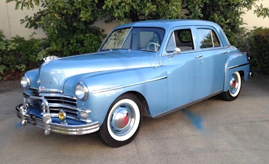 Car style critic plymouth 39 s 1949 fastback for 1949 dodge 2 door sedan