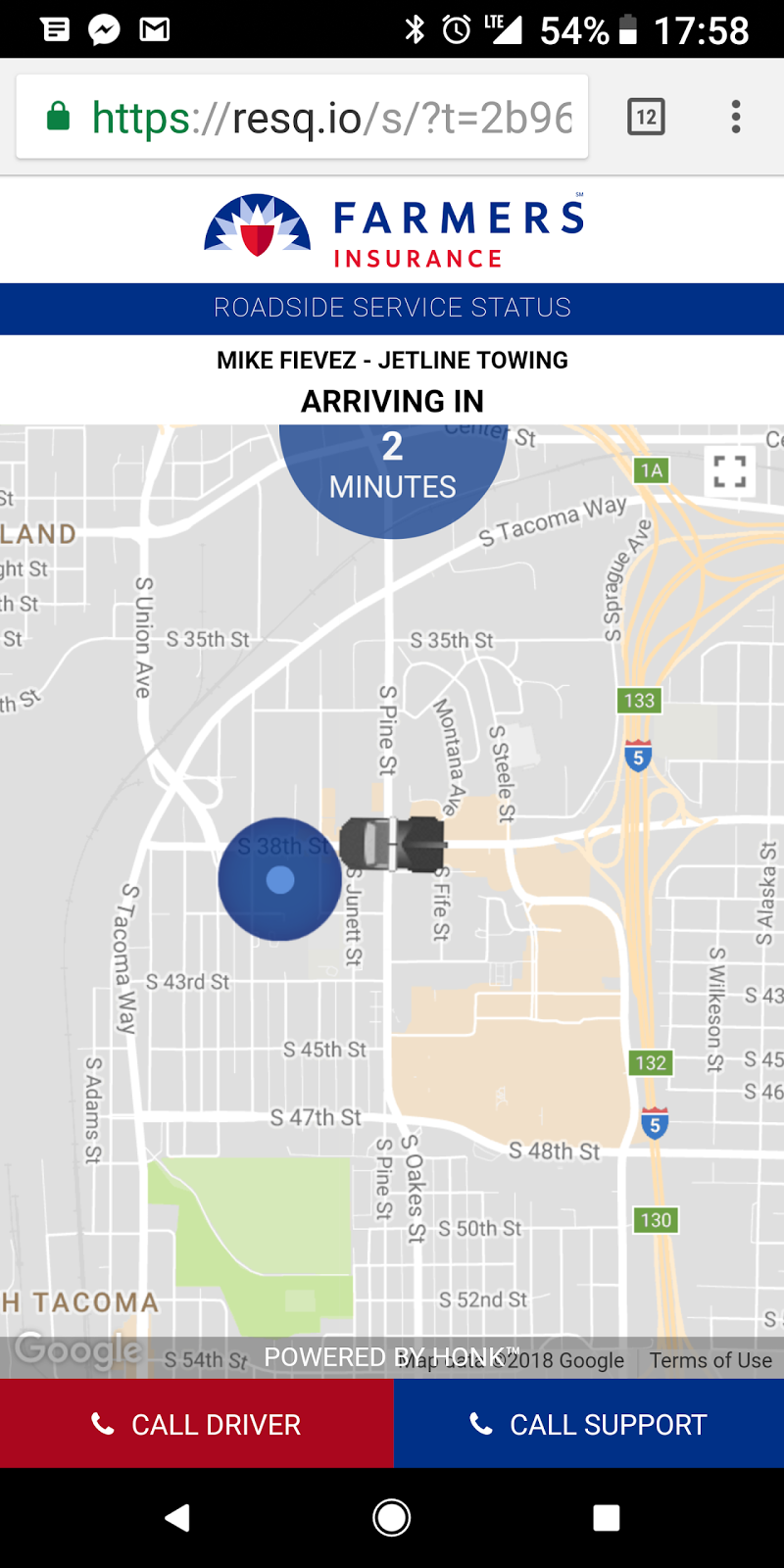 that is google map s fault due to how the addresses align i did the same thing getting to the charging station