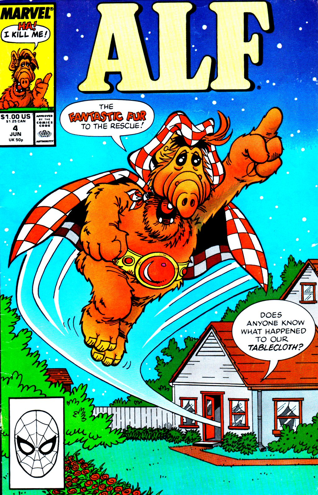 Read online ALF comic -  Issue #4 - 1