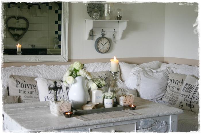 dekoideen wohnzimmer landhausstil