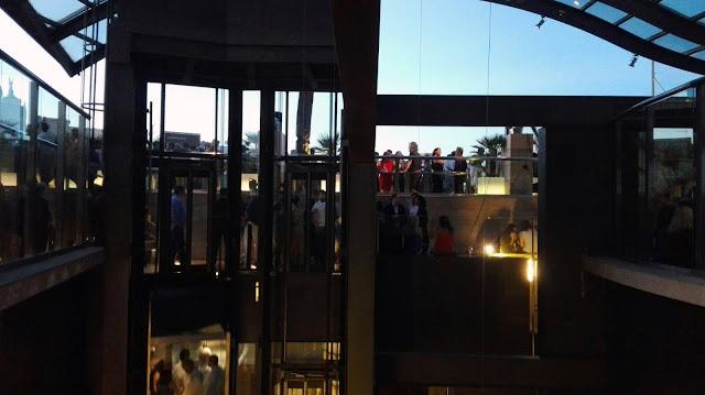 Patio del Hotel Urban desde la azotea. Tusolovive Madrid