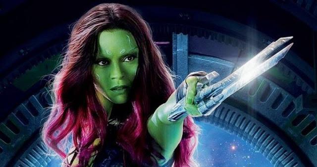Zoe Saldana será Gamora en Avengers: Infinity War