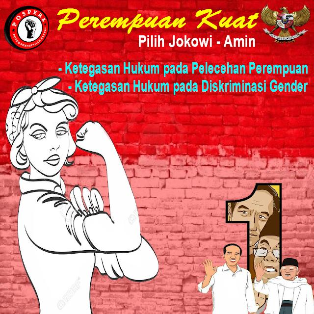 Perempuan Kuat Pilih Jokowi