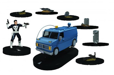 SDCC 16 Exclusive Marvel The Punisher Van HeroClix Set by NECA
