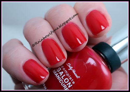 Sally Hansen ~ Right Said Red