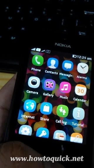 Nokia Asha 501 GPRS / EDGE internet APN settings