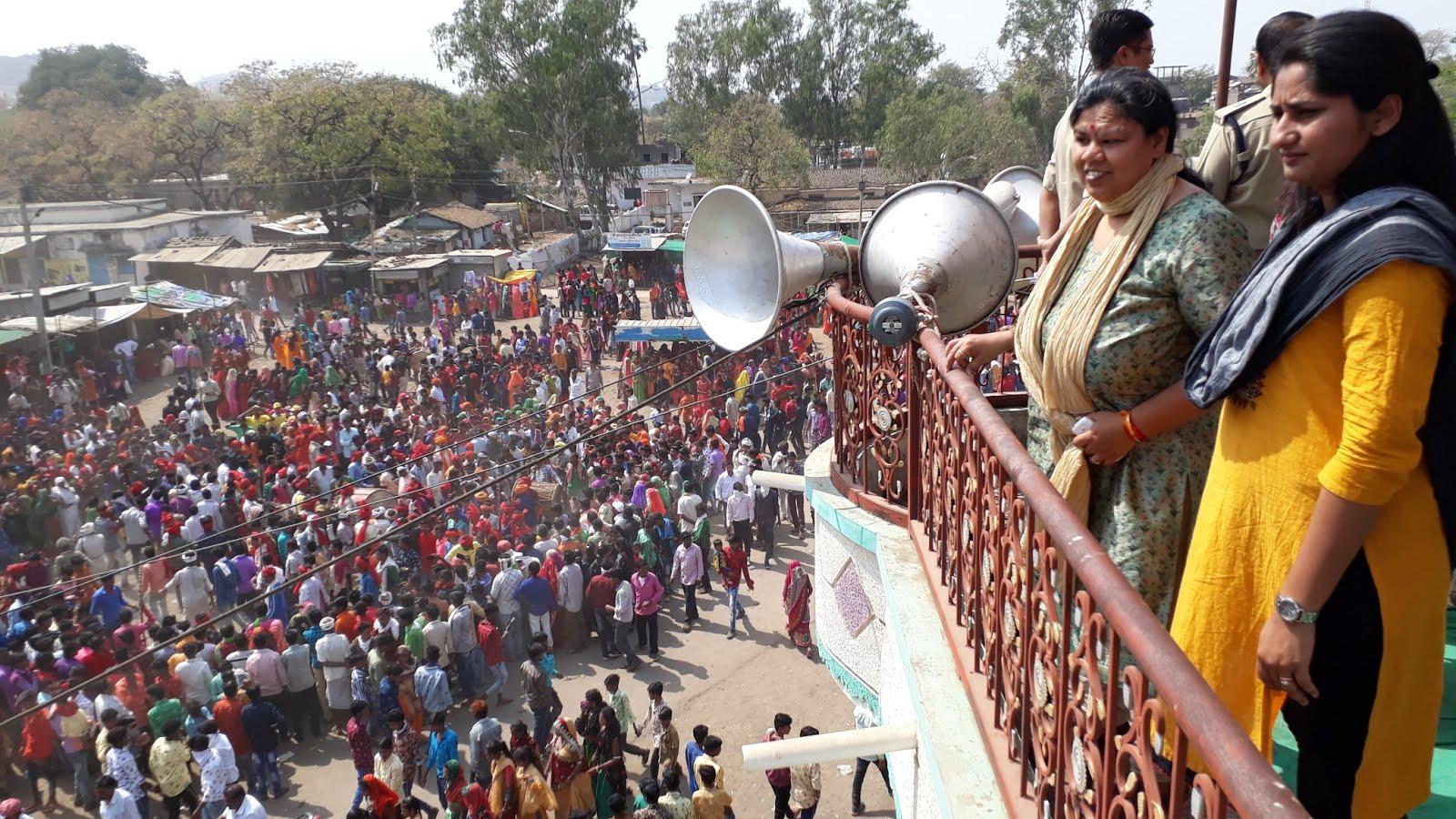 भगोरिया में सुरक्षा बलों के साथ-साथ सीसीटीवी कैमरों, ड्रोन एवं विडियों रिकार्डिंग कैमरों से रखी जा रही पैनी नजर