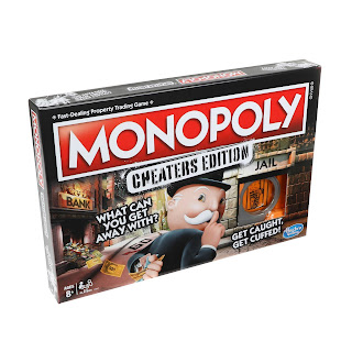 Game box for Monopoly: Cheaters edition