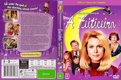 Série A Feiticeira 8º Temporada DVD Capa
