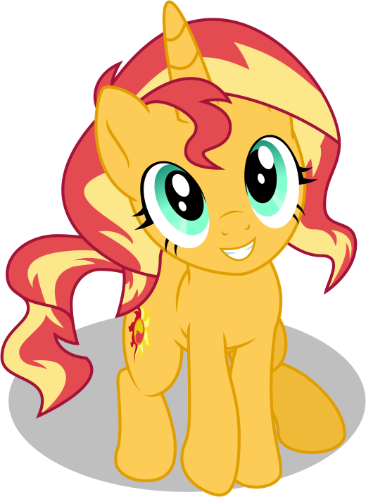 Sunset Shimmers Vector Recolor