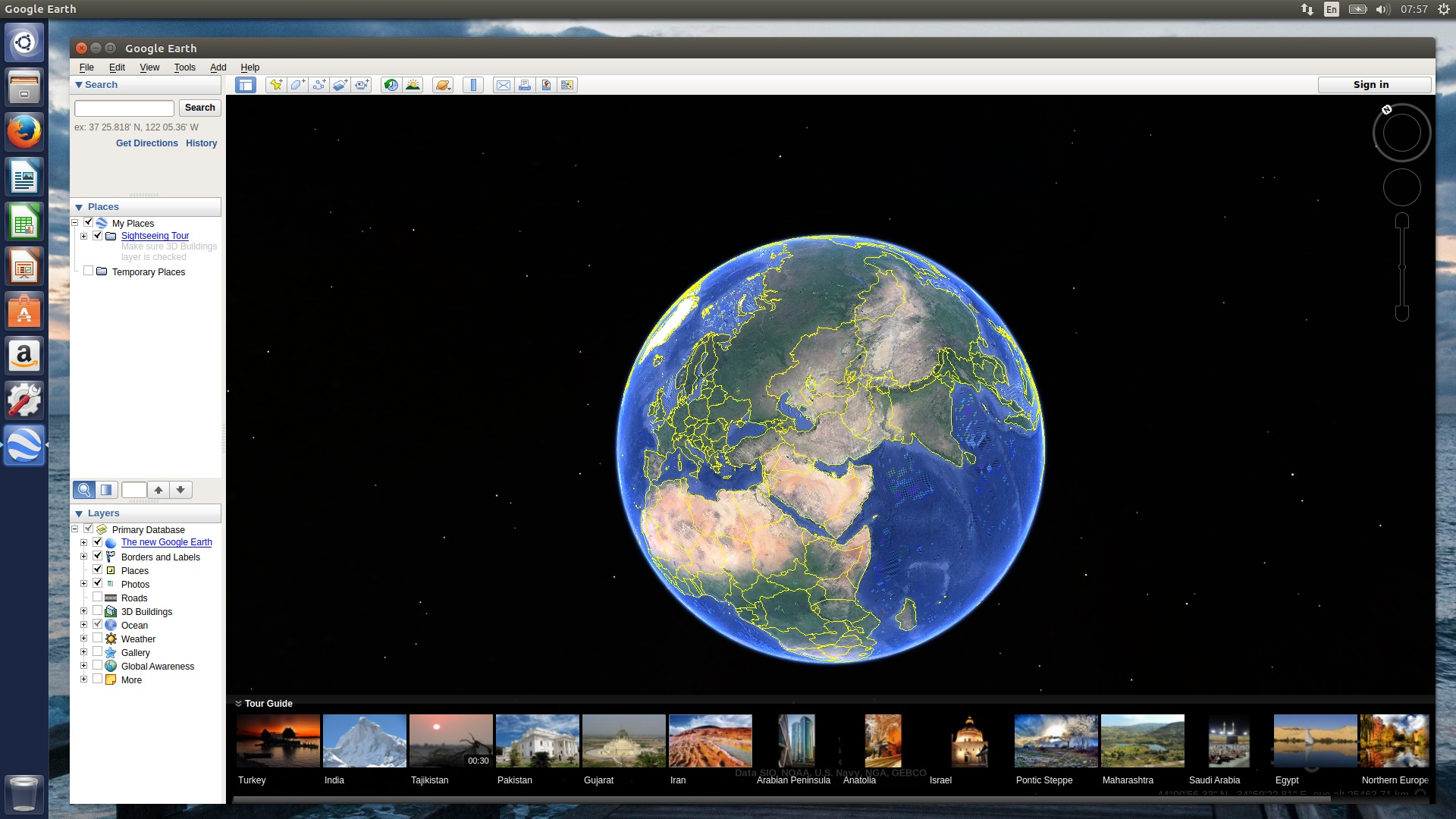 Install google earth in ubuntu 1704 zesty noobslab ubuntulinux to install latest google earth in ubuntu open terminal press ctrlaltt and copy the following commands in the terminal gumiabroncs Gallery