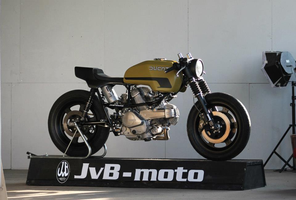 Milchapitas Kustom Bikes Ducati Pantah By Jvb Moto
