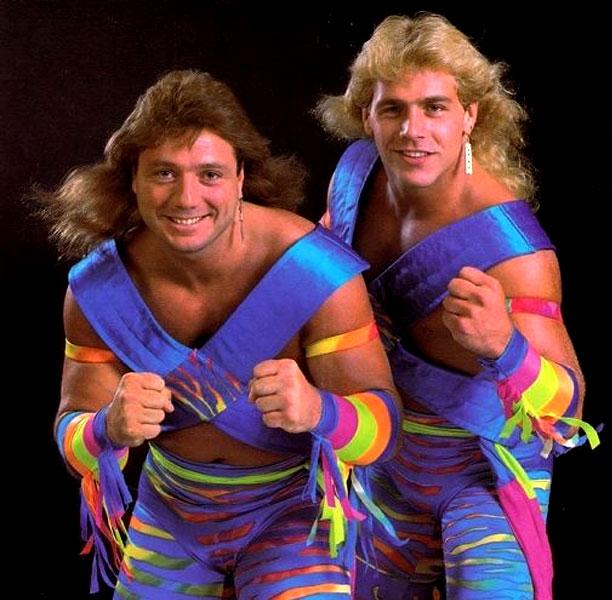 Pressing Catch WWF - Los rockeros
