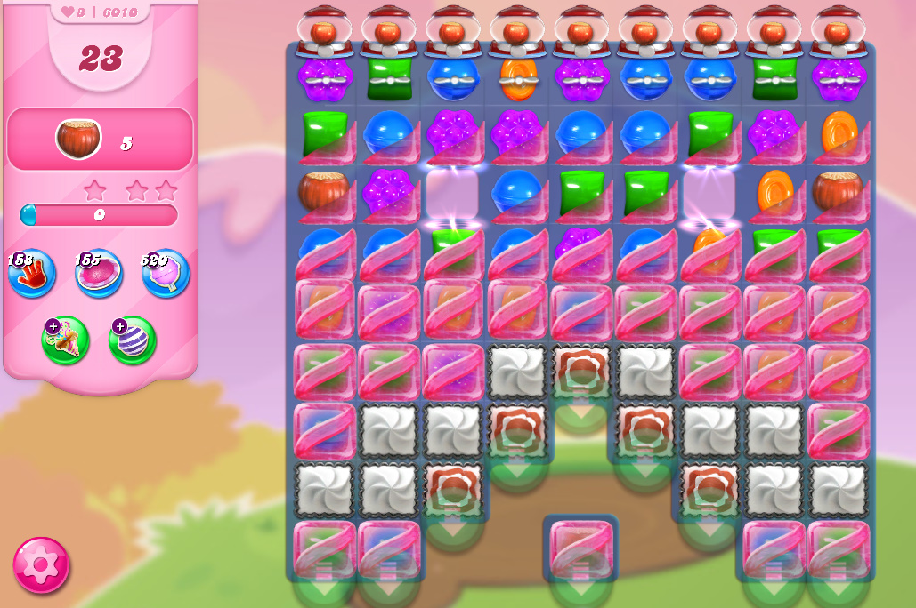 Candy Crush Saga level 6010