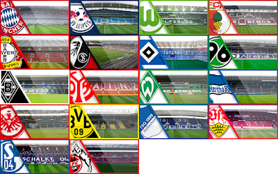 PES 6 Bundesliga Stadium HD Season 2017/2018