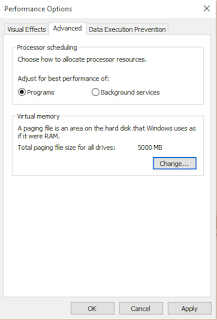 How to increase the Virtual RAM in Windows