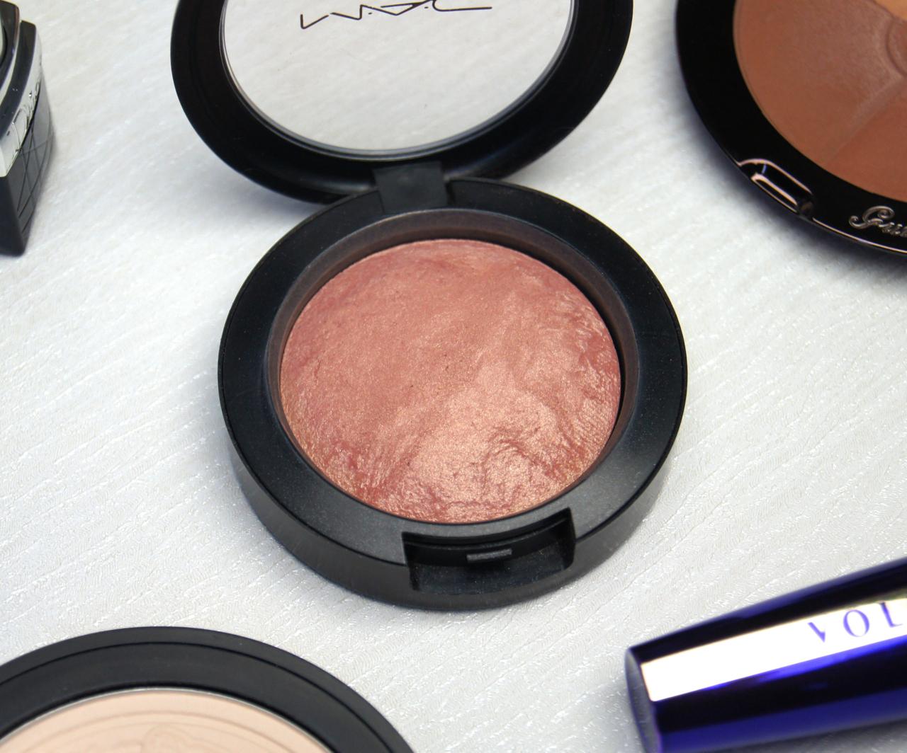 mac mineralize blush warm soul review swatch