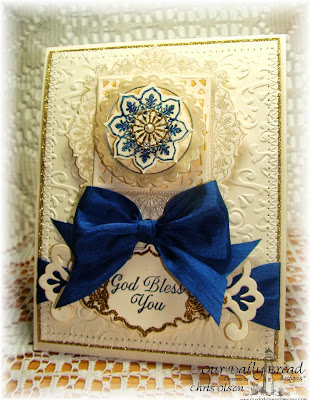 Our Daily Bread Designs, Ornate Borders and Flowers, Ornate Border Sentiments, Ornate Borders and Flowers Die, Chris Olsen
