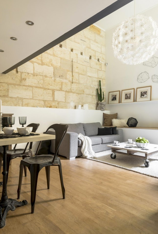 scandimagdeco le blog un ancien garage transform en. Black Bedroom Furniture Sets. Home Design Ideas
