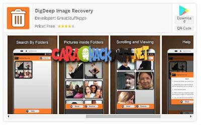 DigDeep Image Recovery