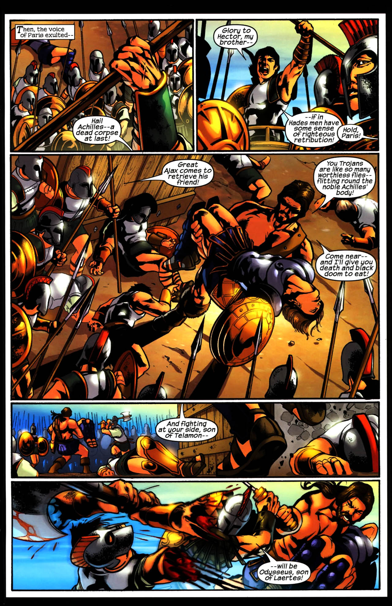 Read online Trojan War comic -  Issue #3 - 23