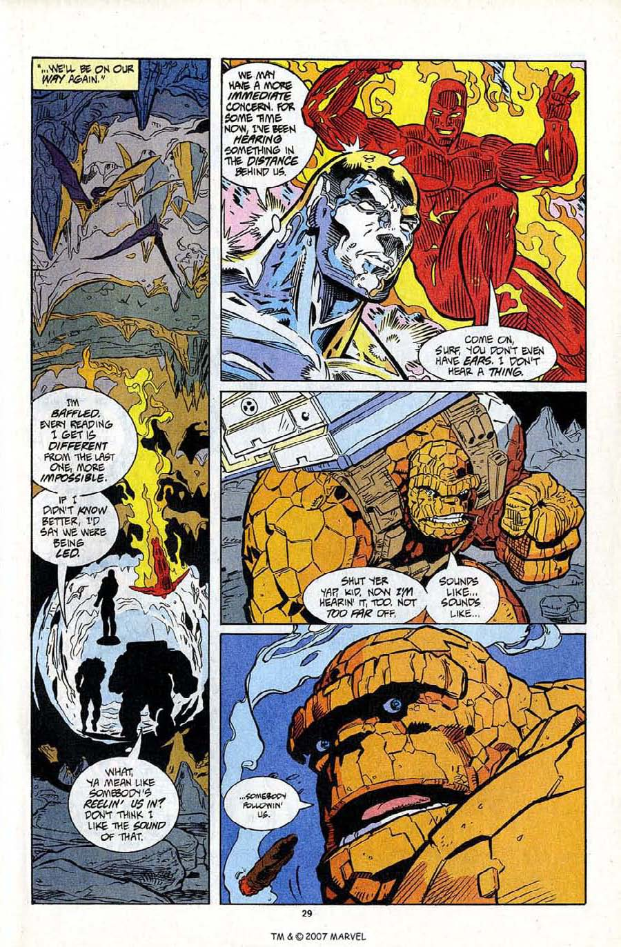 Read online Silver Surfer (1987) comic -  Issue #95 - 31
