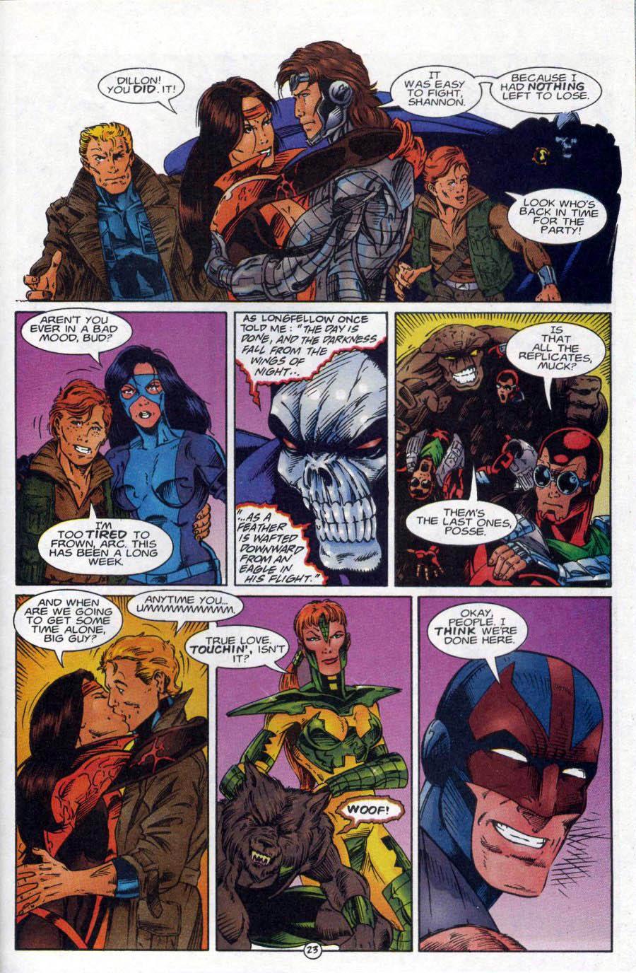 Read online Ex-Mutants comic -  Issue #18 - 23