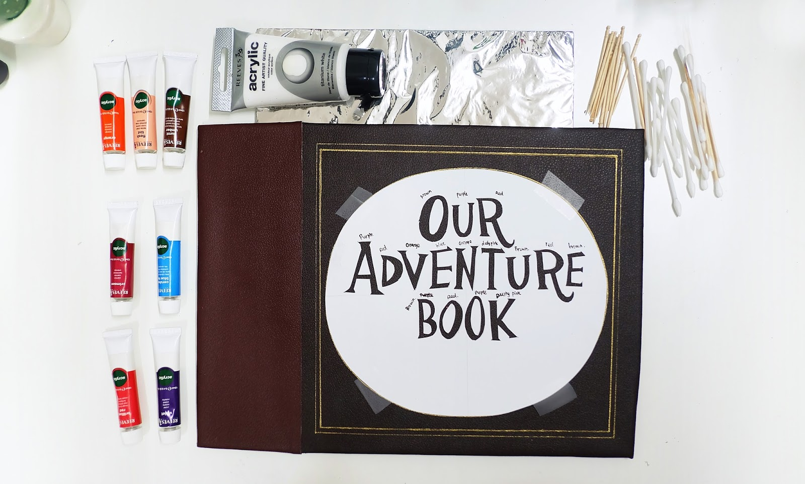 photo regarding Our Adventure Book Printable identify Do it yourself Our Experience E book include Impressed versus Disney Pixar Up