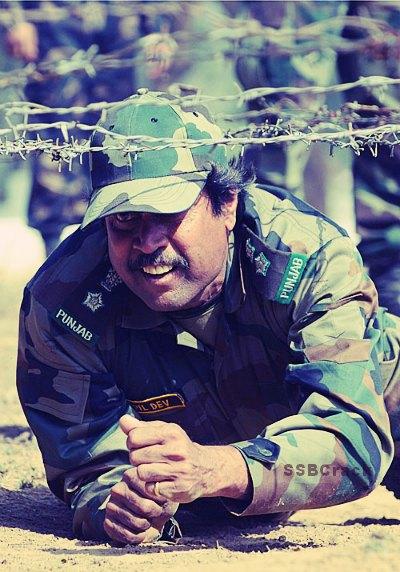 Kapil Dev Territorial Army