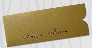 Elegant wedding invitations A1203