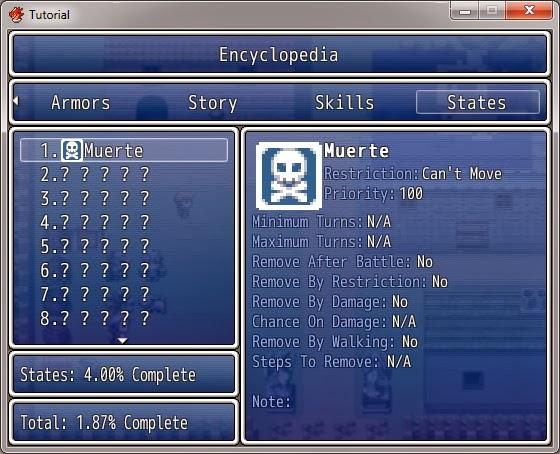 Rpg Maker Mv Encyclopedia Plugin