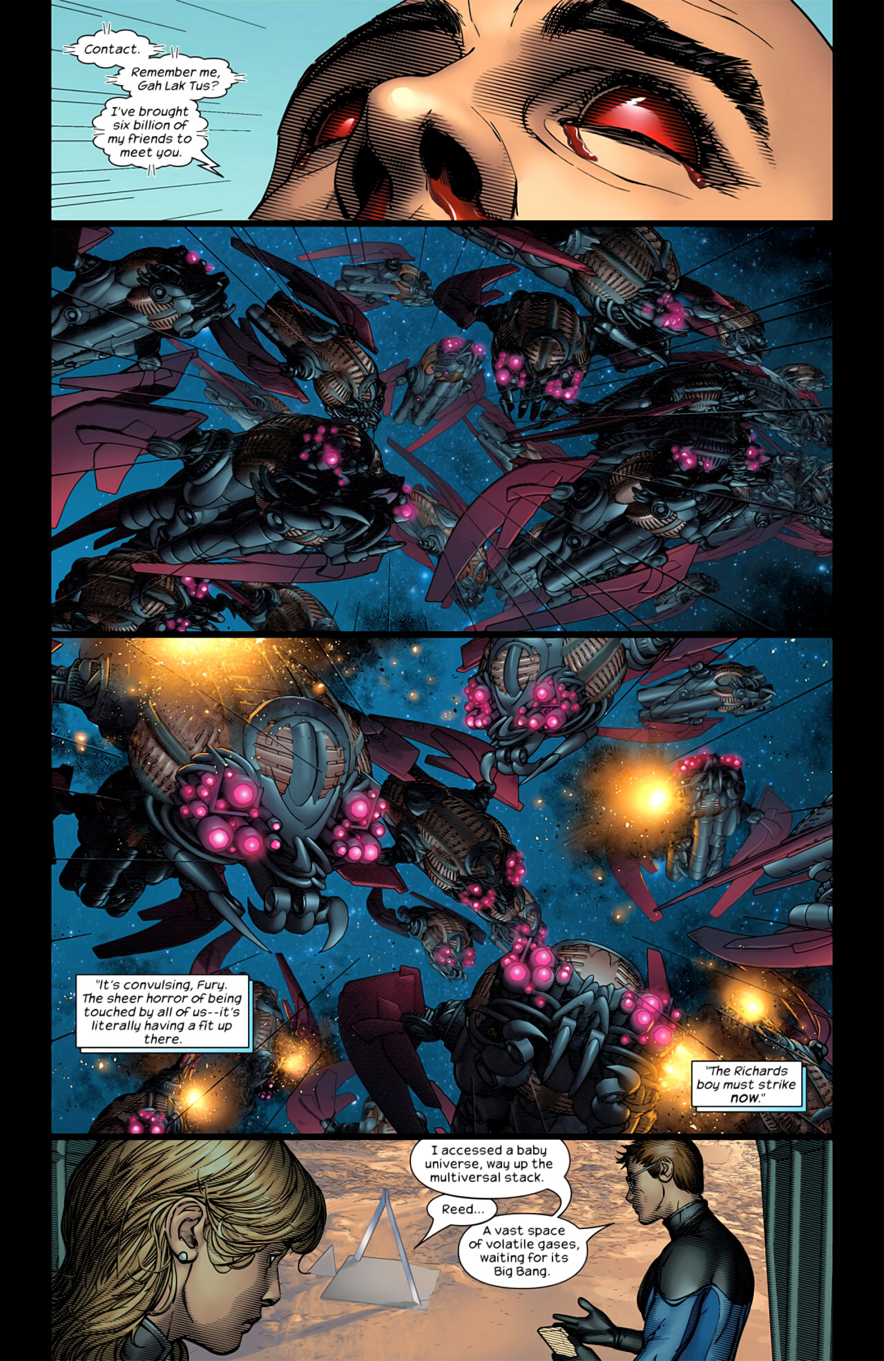 Read online Ultimate Extinction comic -  Issue #5 - 15