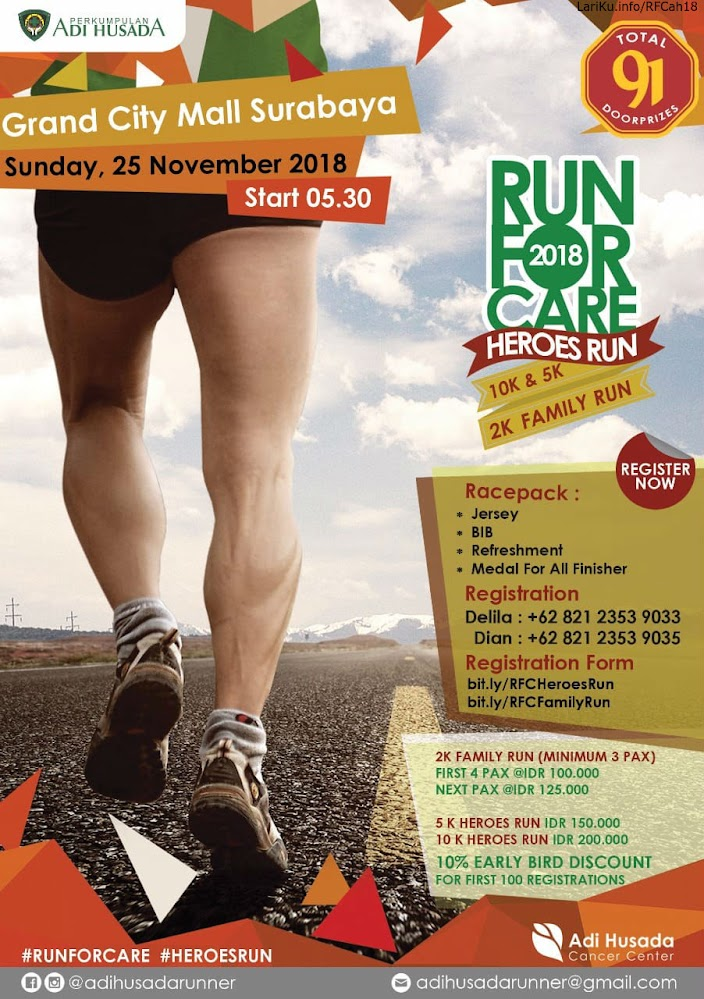Run For Care - Heroes Run • 2018