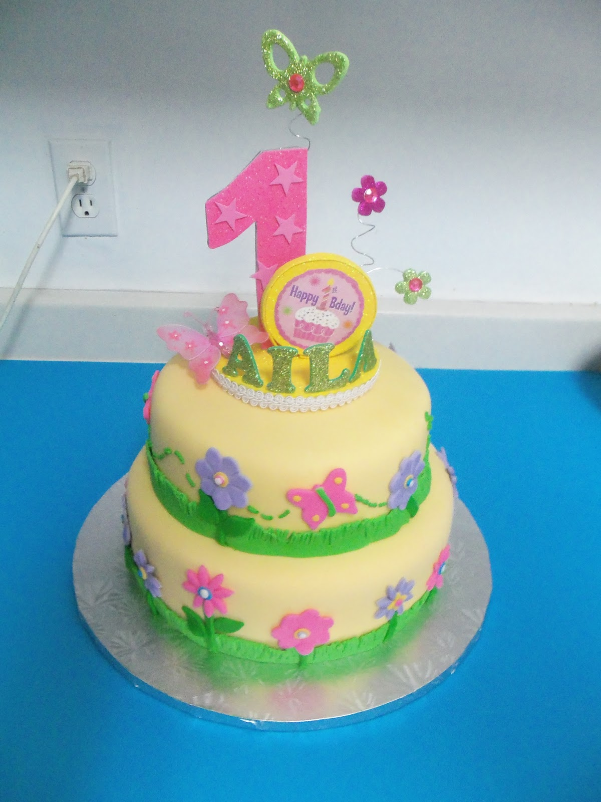 Sugarbakers Cake Design Spring Butterfly Cake